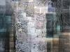 Kasvun tie, 2012-13, 212x118 cm, vesiväri ja kartta paperille
